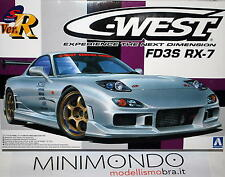 KIT C-WEST FD3S RX-7 MAZDA RX7 1/24 AOSHIMA 008102 00810