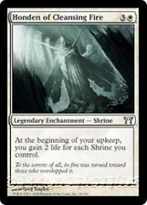 HONDEN OF CLEANSING FIRE Champions of Kamigawa MTG White Enchantment—Shrine Unc
