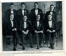 Amerikas Sportkönige--u.a. Jonny Weißmüller--Zeitungsausschnitt von 1928-TOP