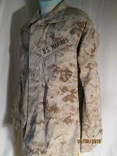USMC US Marine Corps MARPAT Digital Desert Camo Shirt LARGE-REGULAR