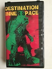 "VHS Movie Sinister Cinema ""Destination Inner Space "" 1966 Sheree North"