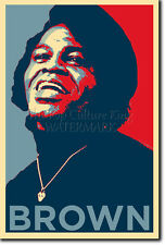 James brown art photo print (OBAMA HOPE Parodie) Poster Cadeau