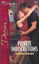 Private Indiscretions Crosby Romance Passion Action Fiction Novel Adventure USA