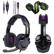 SADES SA930 Surround Stereo Gaming Headphones Wired Headset Earphone Microphone