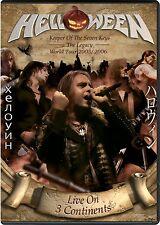 HELLOWEEN - LIVE ON 3 CONTINENTS  2 CD+ 2 DVD NEU