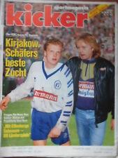 KICKER 96- 30.11. 1992 Kirjakow Bayern-KSC 3:3 Dresden-Schalke 1:0 BVB-1.FCN 4:2