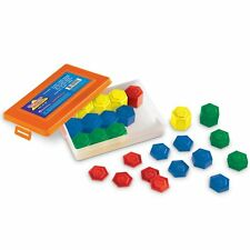 LEARNING RESOURCES 54 PIECE METRIC WEIGHT SET LER4292
