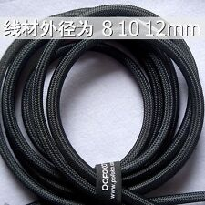 Sleeving Cable 5 Meters X 8MM Black Tube PET Expandable Braided Sleeving Cable
