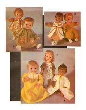 Doll Clothing PATTERN for Little Huggums Baby Dear Snuggle Softee Angel Baby