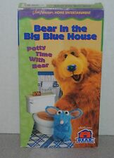 Bear in the Big Blue House - Potty Time with Bear (VHS, 1999, Closed Captioned)