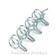 """Dubro Fuel Line Clips (For Large 1/8"""" I.D. 3mm Tubing) (4) - DUB678"""