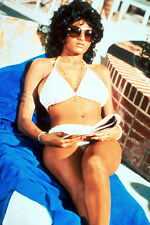 PAM GRIER 24X36 POSTER SEXY IN WHITE BIKINI FOXY BROWN