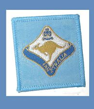 AUSTRALIA Interrnational WAGGGS Girl Guide Scouts Kangaroo Patch Combine Ship
