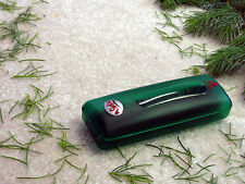 Holiday Christmas Tree & Wreath Needle Pick-up Brush, Hand-held Mini Sweeper