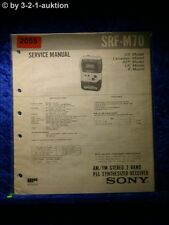 Sony Service Manual SRF M70 (#2055)