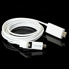 3M/10FT Micro USB MHL to HDMI HD TV Cable Adapter for Samsung Galaxy Note 2 3 4