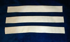 Lot of 3 Soviet Russian Uniform Collar Liners White Inserts USSR Military Army