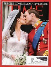TIME MAGAZINE, APRIL 29,2011 ROYAL WEDDING COMMEMORATIVE ISSUE - WILL & KATE-EXC