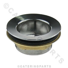WF1 DEEP WASTE FITTING FOR STAINLESS STEEL COMMERCIAL CATERING SINKS 40mm 1 1/2""