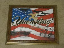 YUENGLING MILITARY SUPPORT TROOPS BEER SIGN PRINT  POTTSVILLE  ARMY NAVY MARINES