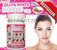 Best Seller White Gluta Supreme 1500000Mg  Whitening Anti Aging 30 Softgel.