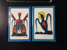 Ivan Shawana Playing Cards Sealed Abstract Penguins Sun Ojibwe Graphica
