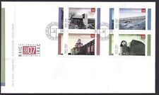 Canada  FDC # 2215-2218   ROYAL ARCHITECTURAL INSTITUTE  2007  New & Unaddressed