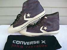 Converse X John Varvatos Star Player EV All Star Hi Leather Black Grape Mens 10