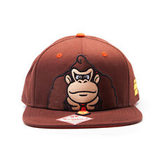 AWESOME SUPER MARIO BROS IT'S ON LIKE DONKEY KONG BROWN SNAPBACK CAP HAT *NEW*