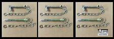 6 X Sword Pin and Chain 12.5mm x 88mm (Trailer Parts Cotter Linch Pin Lynch Pin)