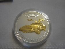 The Bricklin SV-1 2003 Canadian $20 Selectively Gold Plated Coin Box, Case & COA