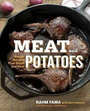 Meat and Potatoes: Simple Recipes that Sizzle and Sear-ExLibrary