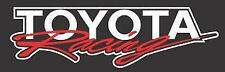 Toyota Racing Vinyl Decal Sticker Logo Corolla Yaris Matrix Venza Echo