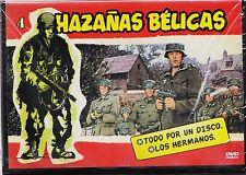 """HAZAÑAS BÉLICAS nº 4: """"Los hermanos"""" y """"Todo por un disco"""" (2 peliculas de 50 m)"""