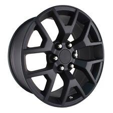4 NEW 2014 GMC Sierra Wheels 20x9 Matte  Black OE Silverado Denali Yukon Tahoe