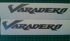 2x Honda Varadero XL125 XL1000 Decal Motorcycle Decals Stickers Vinyl Cut