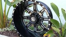 "Mayhem Monstir 22"" Dually wheels Chevy Dodge Ram 3500 Ford F350 F450"