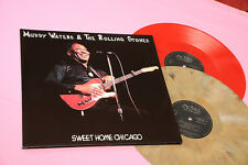 MUDDY WATERS & ROLLING STONES LP SWEET HOME CHICAGO MINT COLOR VINYL !!!!!!!!!!!