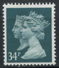 GB SG#1473, 34p Double Head QEII Machin Definitive PP MNH #D3154