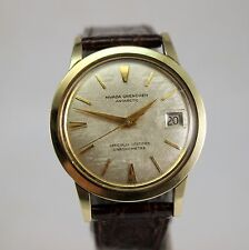 """Men's NIVADA GRENCHEN """"Antarctic"""" Chronometer Automatic Wrist Watch ~ Date ~ 60s"""