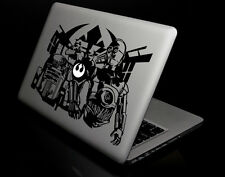 "Black Star Wars R2 AND C-3PO Decal Sticker Skin for Macbook Air/Pro 13"" 15"" 17"""