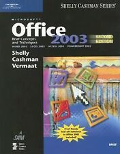 Microsoft Office 2003: Brief Concepts and Techniques (Shelly Cashman), Gary B. S