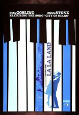LA LA LAND * CineMasterpieces ORIGINAL DS MOVIE POSTER 2016 PIANO MUSICAL