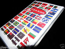 "Premier 10"" Country Flag theme World Coin Collection Album Book 10pages 120slots"