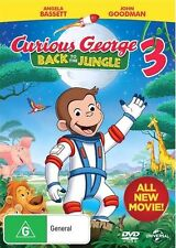CURIOUS GEORGE 3 - Back To The Jungle : NEW DVD