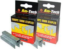 Am-Tech 1000PC 10mm Staples