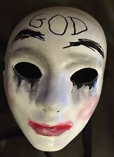 The Purge Anarchy 1 2 3 Style Mask Halloween Fancy Dress Costume Horror God