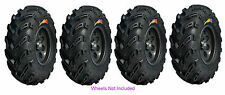 (2) 24X8-11 & (2) 24-10-11 GBC Dirt Devil Tires For 89-04 Kawasaki KLF300C Bayou