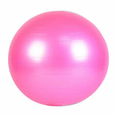 Health Exercise Yoga  Gym Ball Sport Fitness Slimming Aerobic Abdominal Pink
