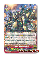 Cardfight Vanguard  x 4 Fiery March Colossus - G-BT05/040EN - R Mint